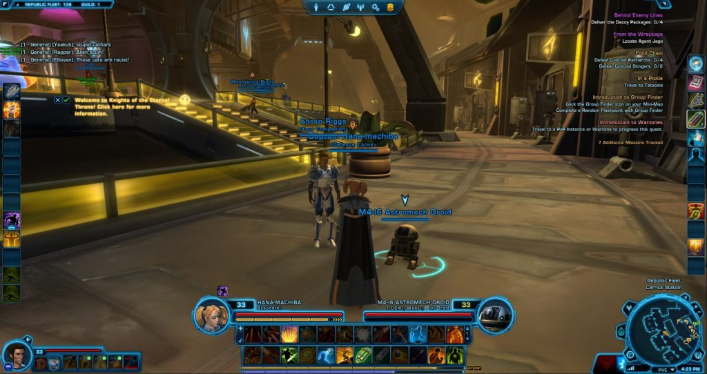 SWTOR Screenshot Republic Fleet