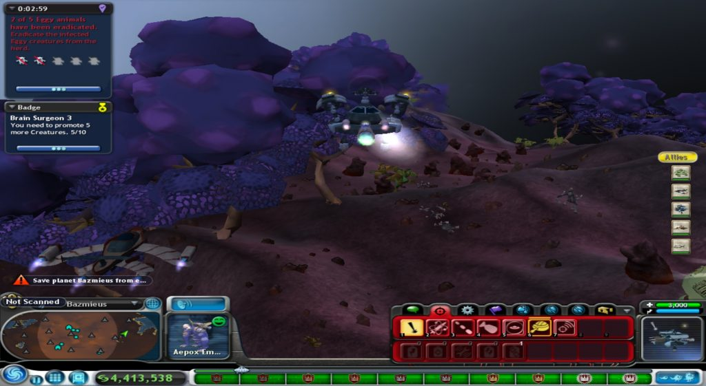 This image has an empty alt attribute; its file name is Spore-Eradication-Mission-1024x561.jpg